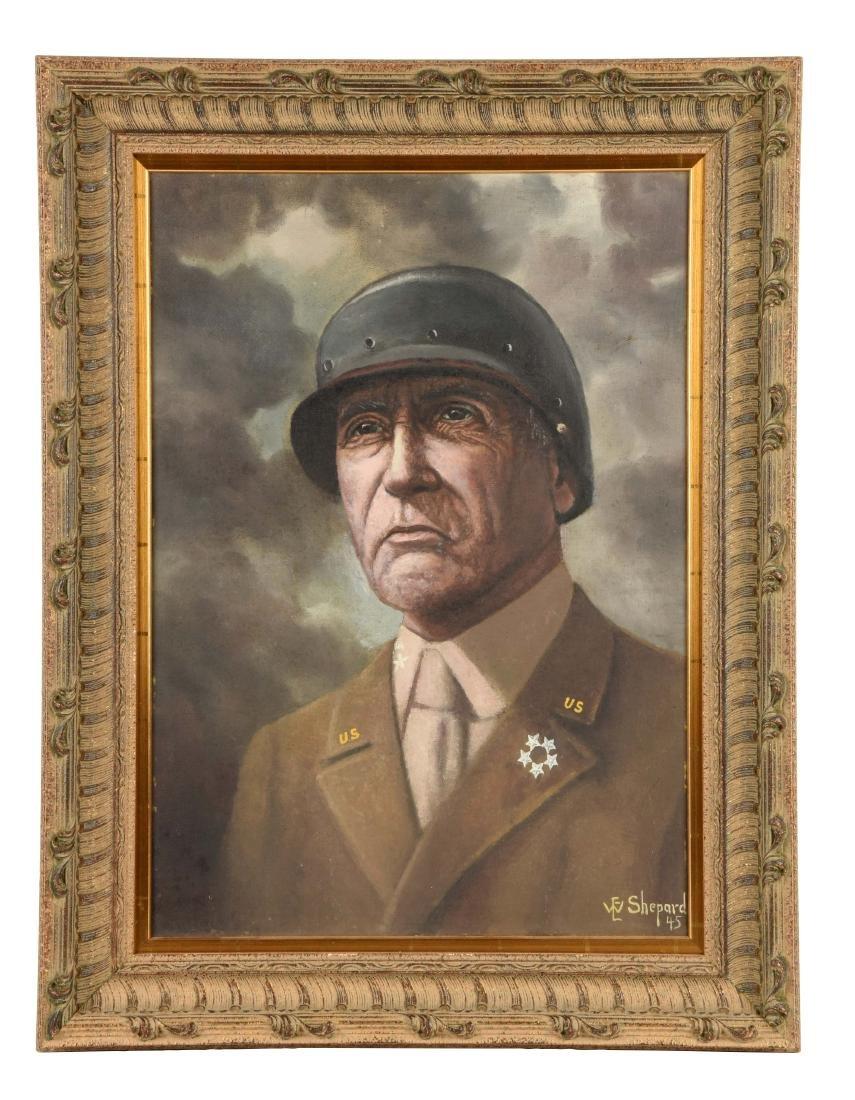 Portrait of General George S. Patton.