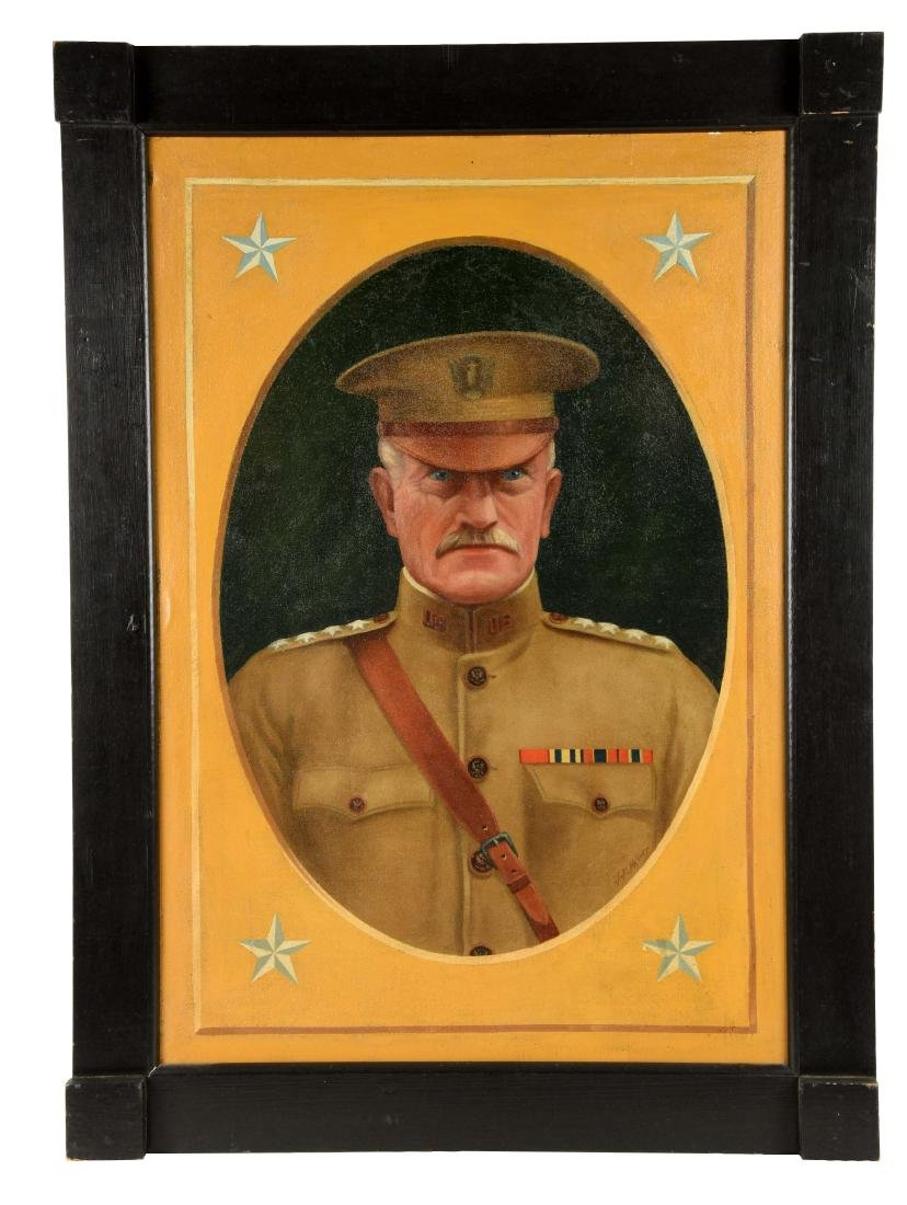 Oil Portrait of U.S. General.