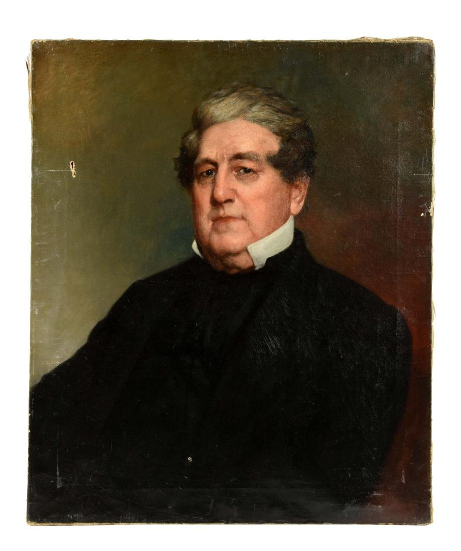 Oil Portrait by William E. Winner.