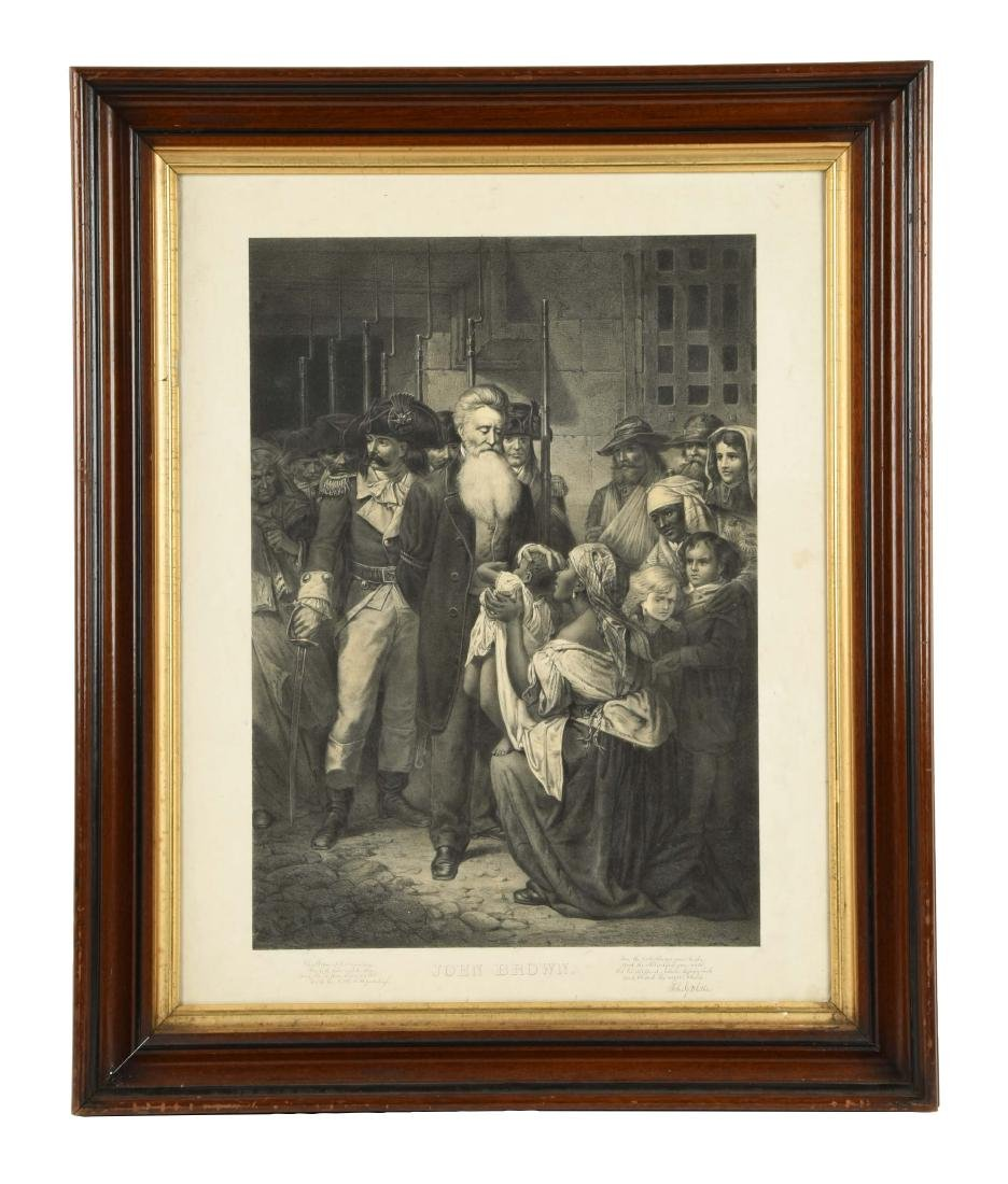 Framed Print of John Brown.