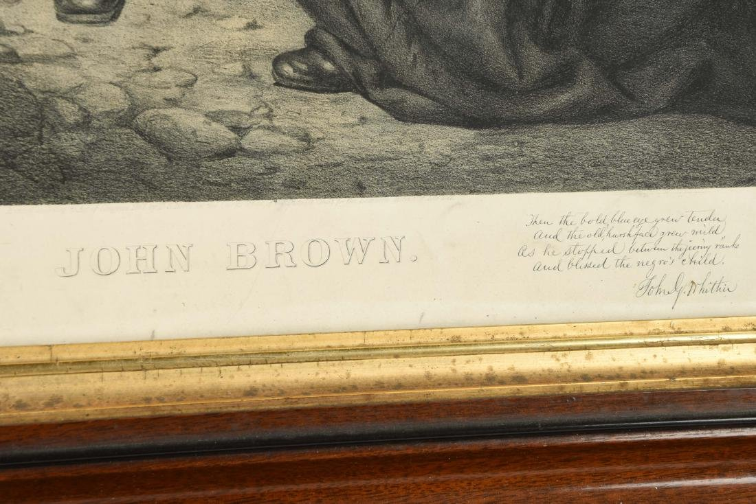 Framed Print of John Brown. - 3