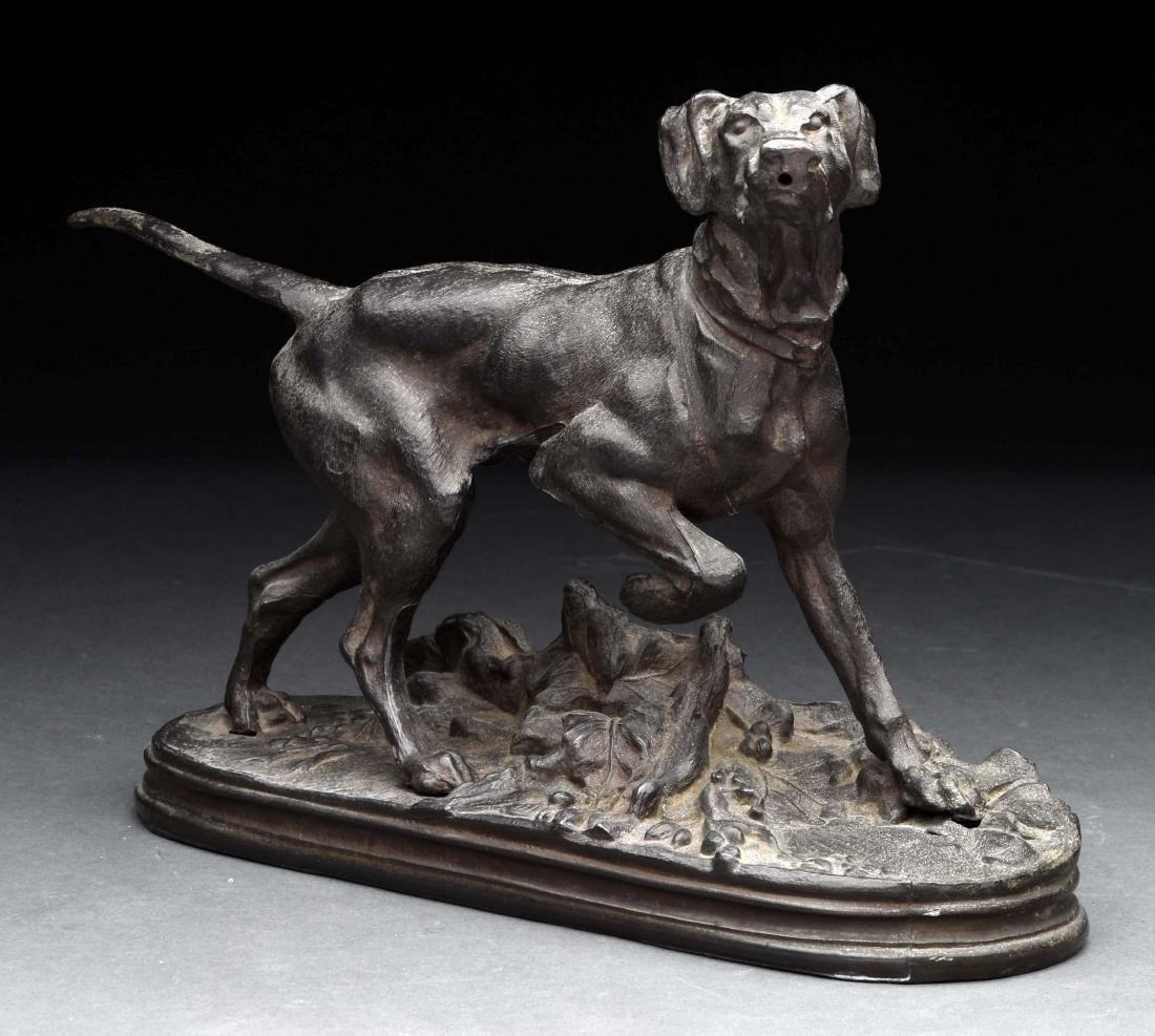 Pointer Dog Statue.