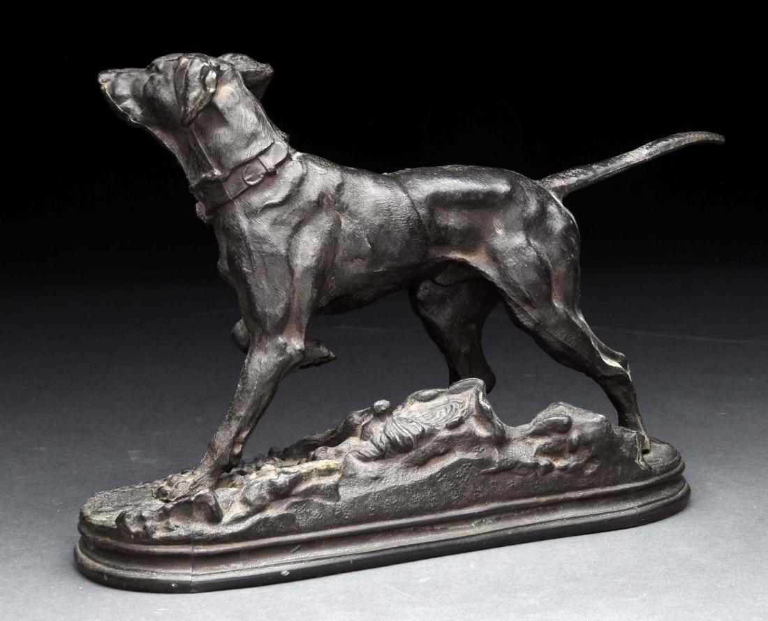 Pointer Dog Statue. - 2