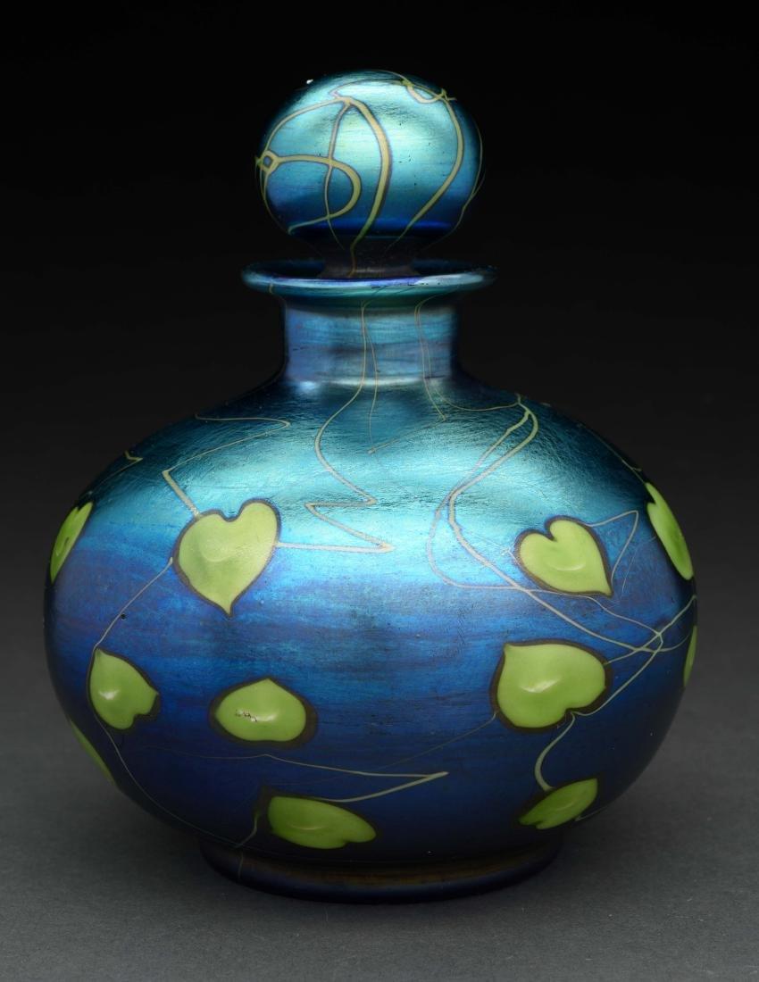 Tiffany Favrile Perfume Bottle.