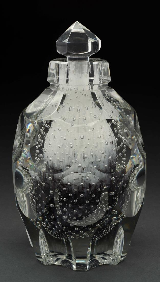 Large Steuben Paperweight Perfume Bottle.