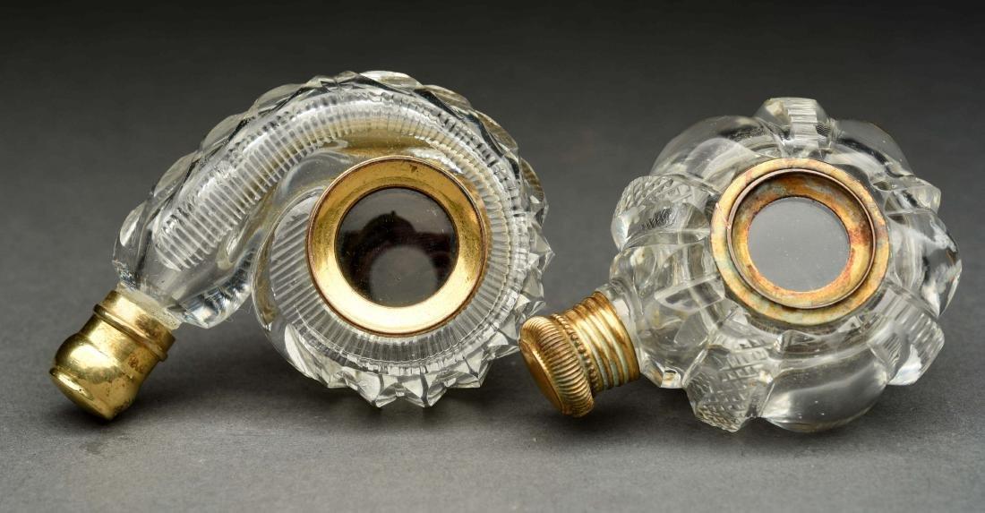 Lot Of 2: Rare Telescopic Lens Perfume Bottles. - 2
