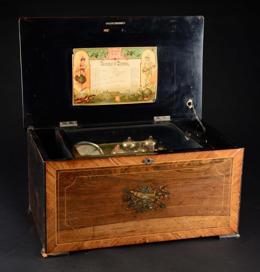 Cylinder Music Box.