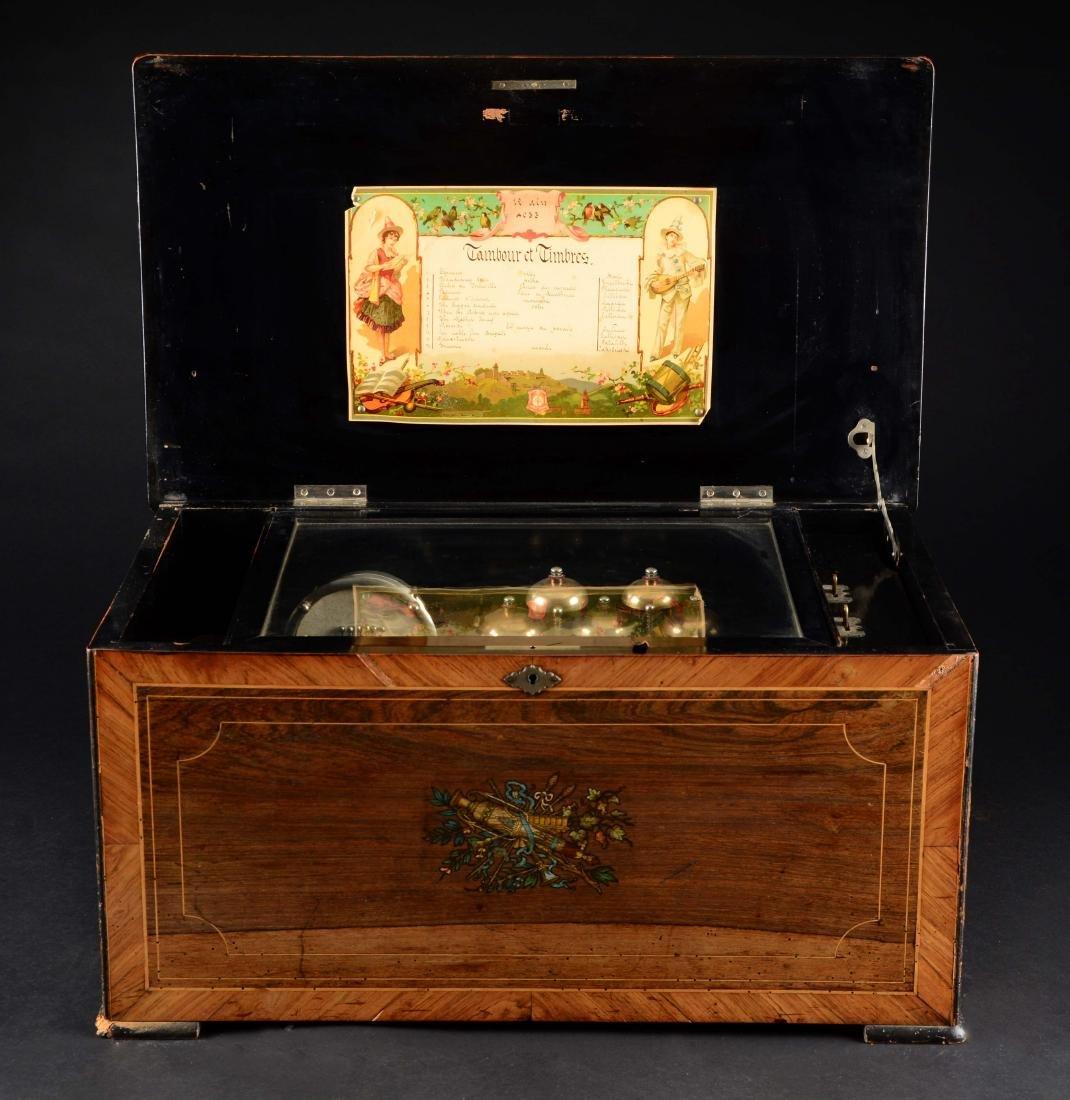 Cylinder Music Box. - 2