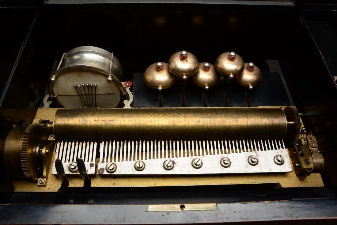 Cylinder Music Box. - 4
