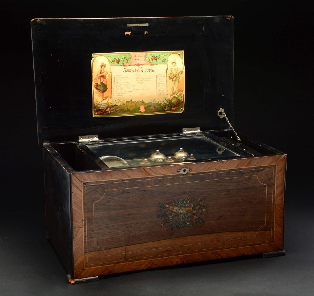 Cylinder Music Box. - 9