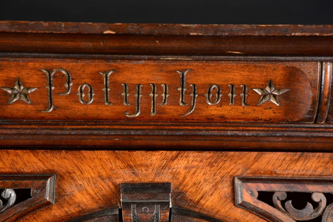 Coin-Op Polyphone Upright Music Box. - 5