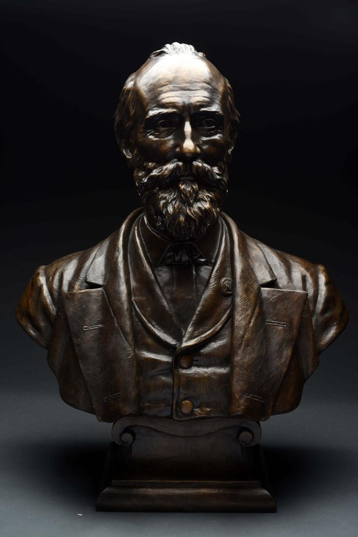 Bronze Bust of Robert E. Lee.