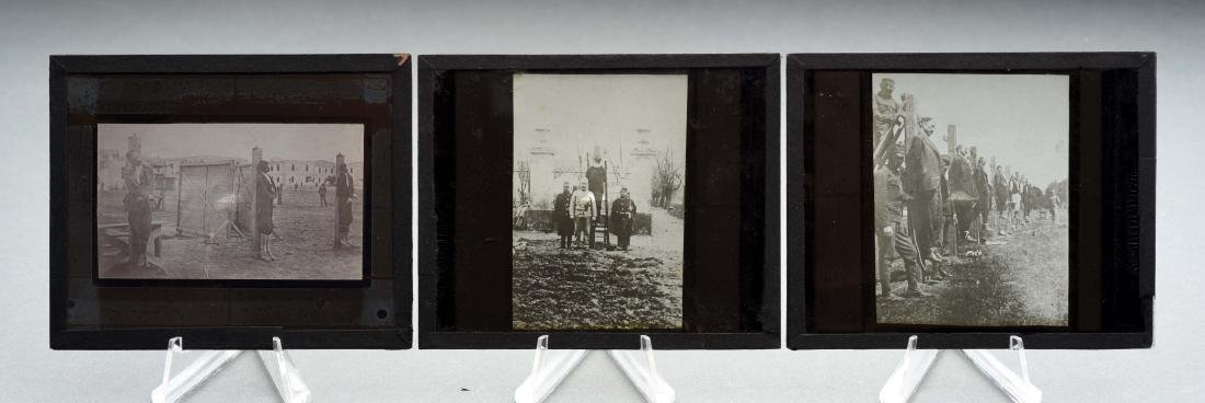 Lot Of 3: Photographers of Men Being Hanged.