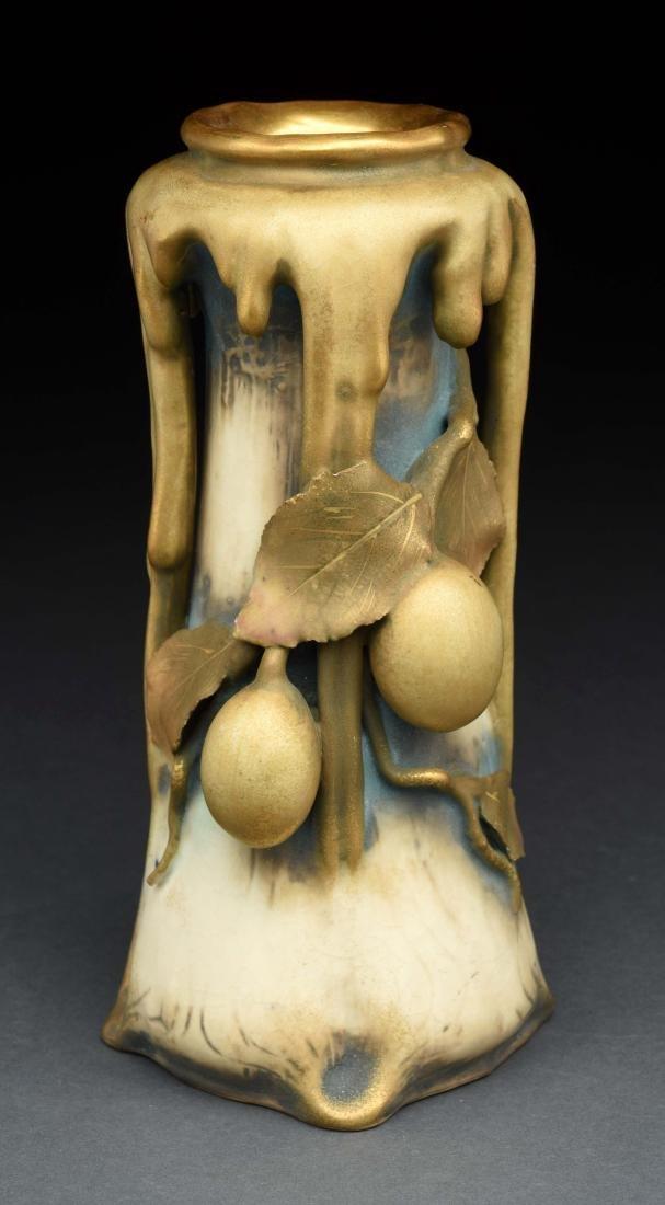 Amphora Dripped Glaze Vase.