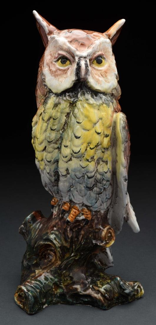 Paolo Marioni Pottery Owl.