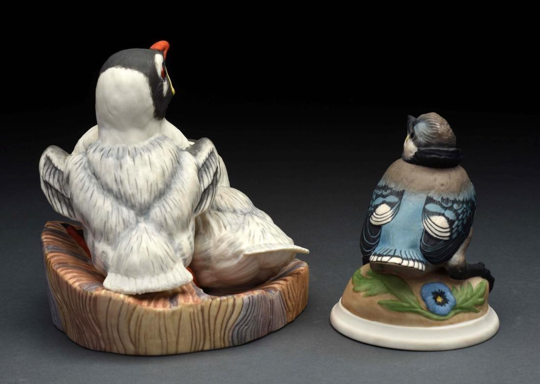 Lot of 2: Porcelain Boehm Bird Figurines. - 2