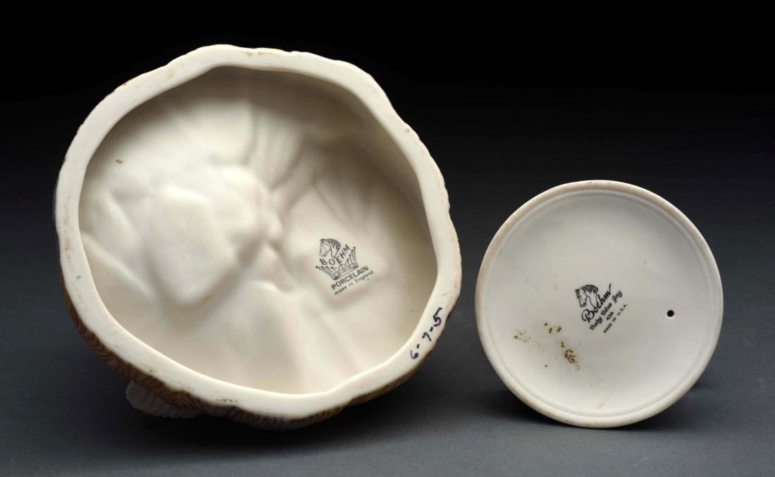 Lot of 2: Porcelain Boehm Bird Figurines. - 3