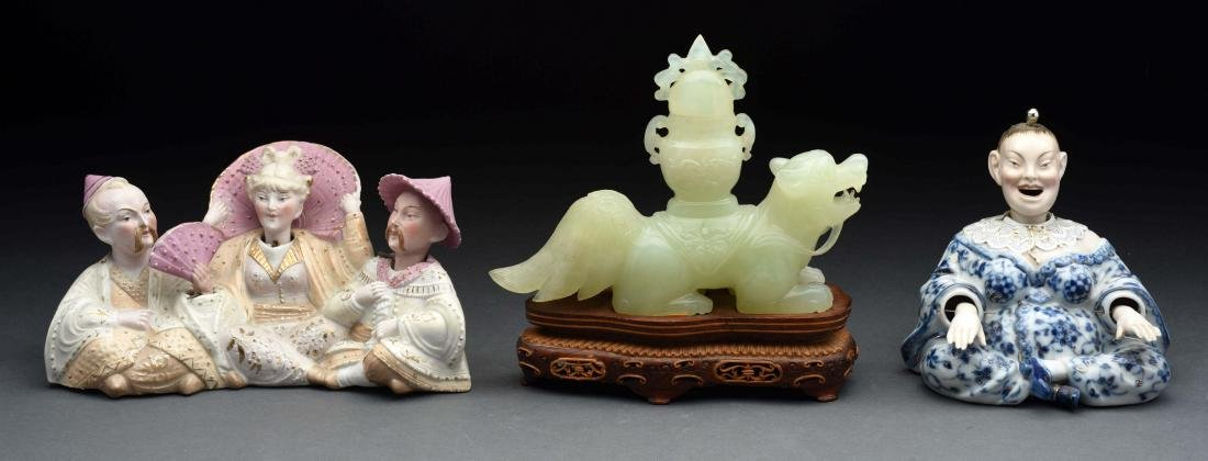 Lot of 3: Oriental Pieces.