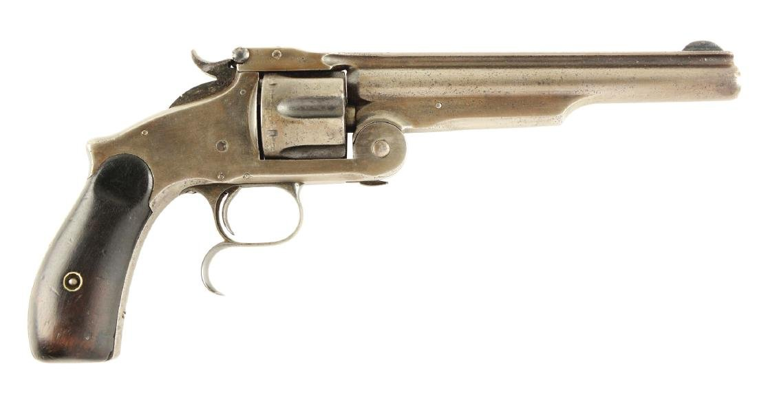 (A) S&W 2nd Model Russian Model No. 3 Revolver.
