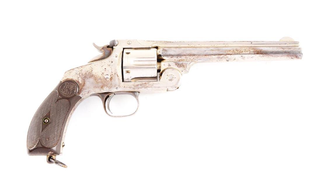 (A) S&W No. 3 Russian Revolver.