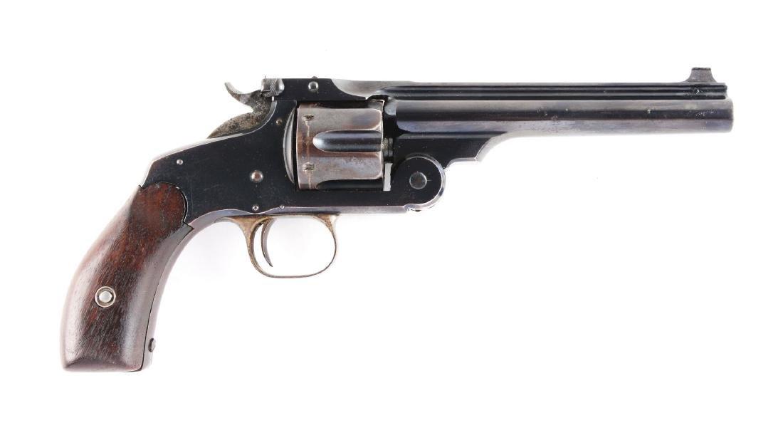 (A) S&W New Model No. 3 Target Revolver.