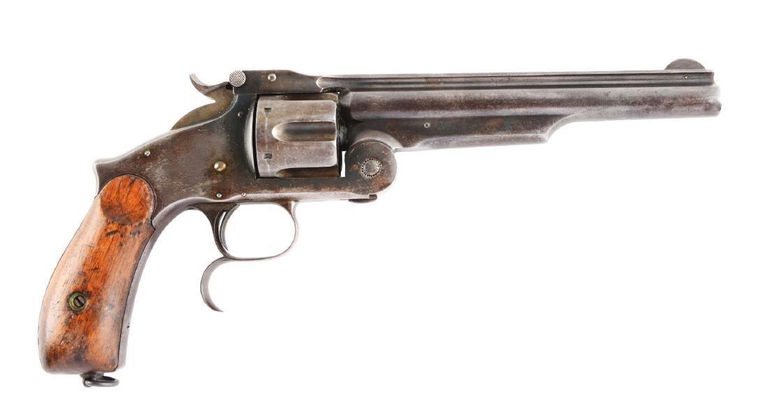 (A) S&W No. 3 Russian 2nd Model Revolver.