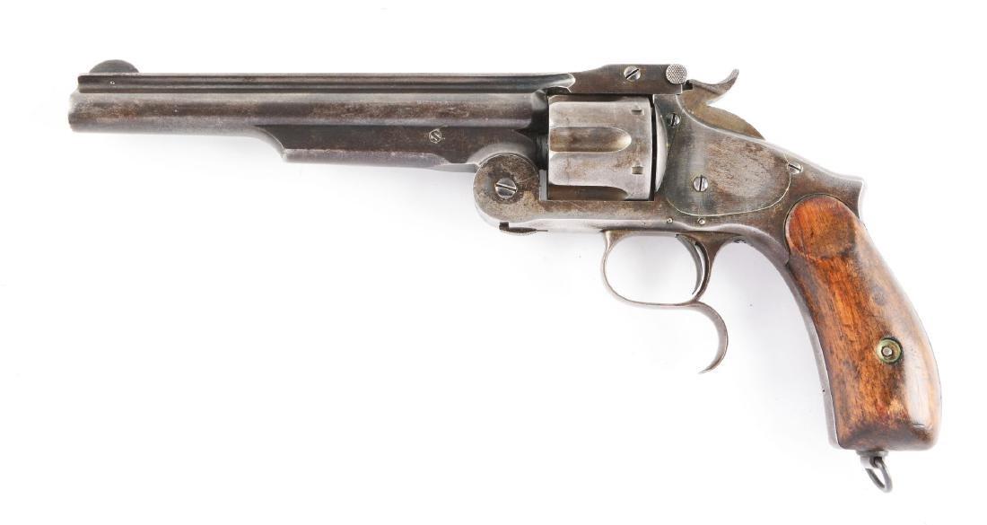 (A) S&W No. 3 Russian 2nd Model Revolver. - 2