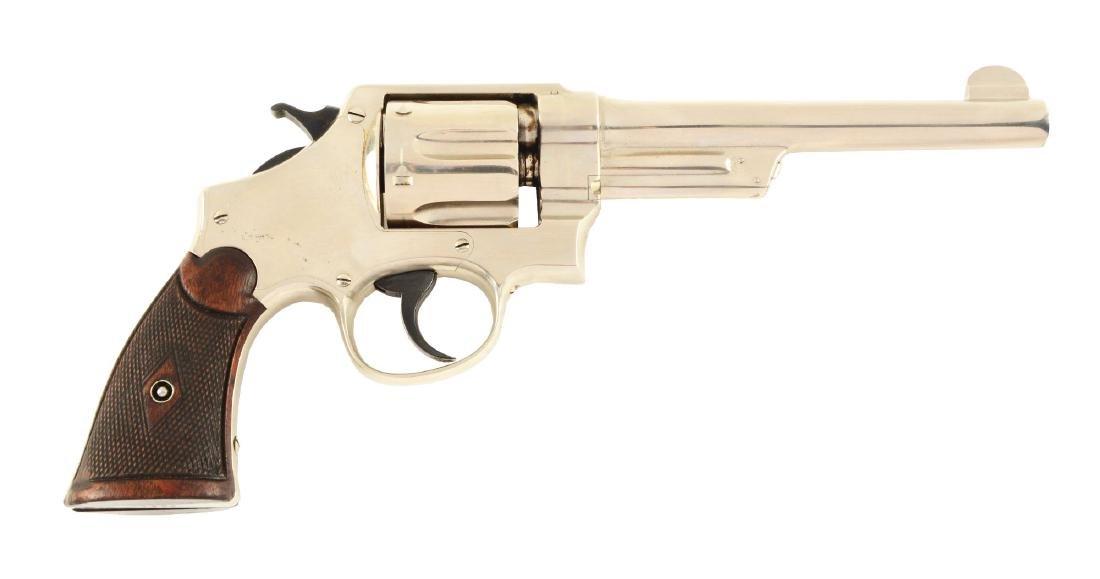 (C) S&W .44 Triple Lock Revolver.