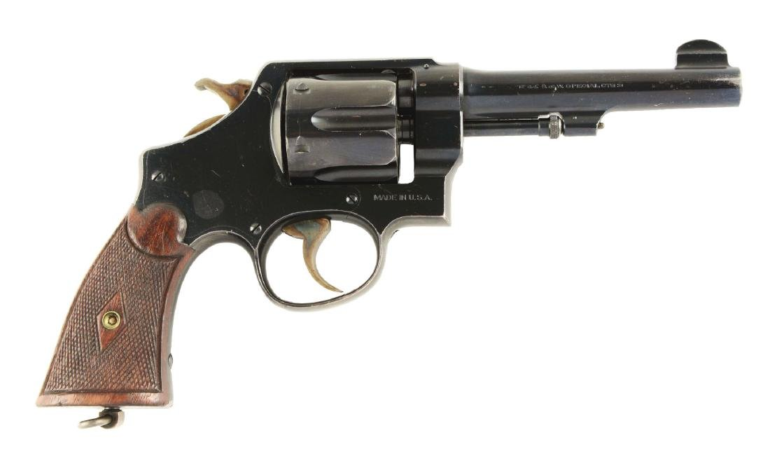 "(C) Scarce 5"" S&W .44 Hand Ejector Second Model"