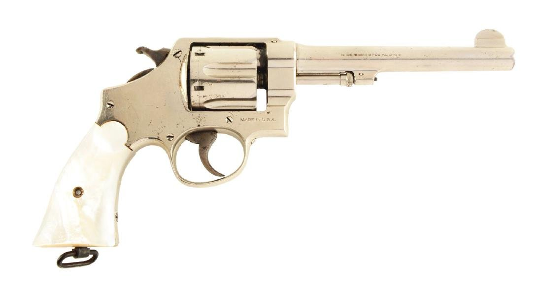 (C) S&W .44 2nd Model Hand Ejector Revolver (Wolf &