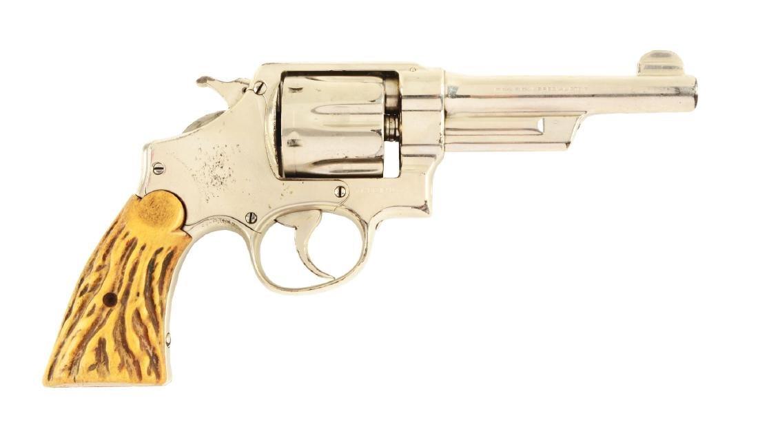 (C) S&W 3rd Model HE Wolf & Klar .44 Revolver.
