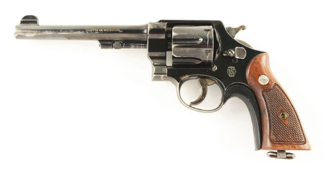 (C) S&W 2nd Model .44 Hand Ejector Revolver. - 2
