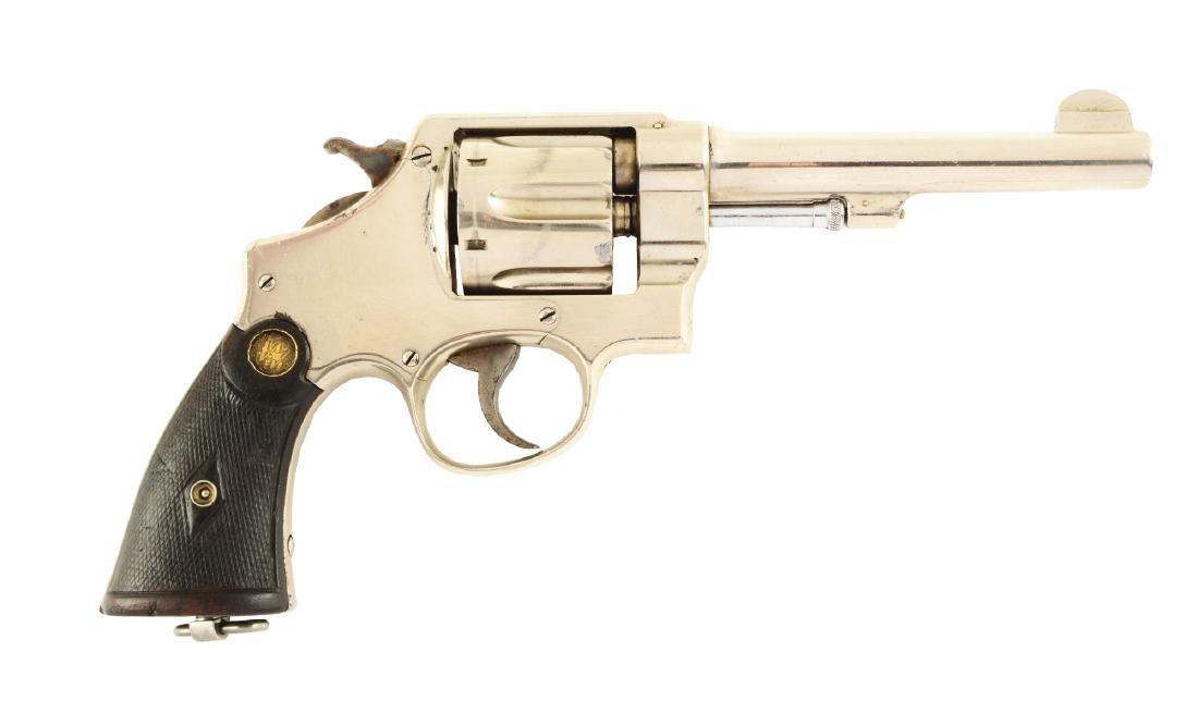 (C) S&W Model 1917 Revolver.