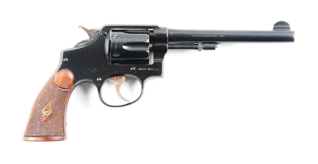 (C) Pre War Military and Police Smith and Wesson