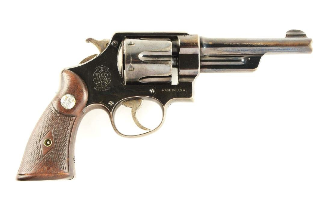 (C) Pre-War Smith and Wesson .38/44 Heavy Duty