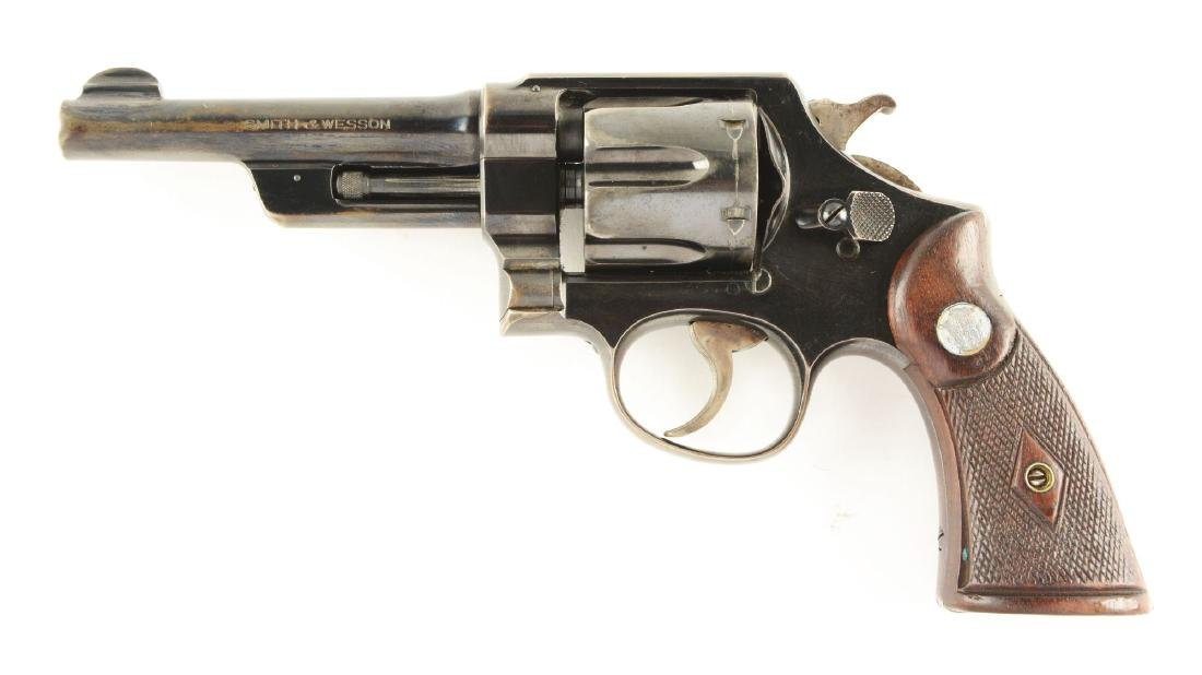(C) Pre-War Smith and Wesson .38/44 Heavy Duty - 2