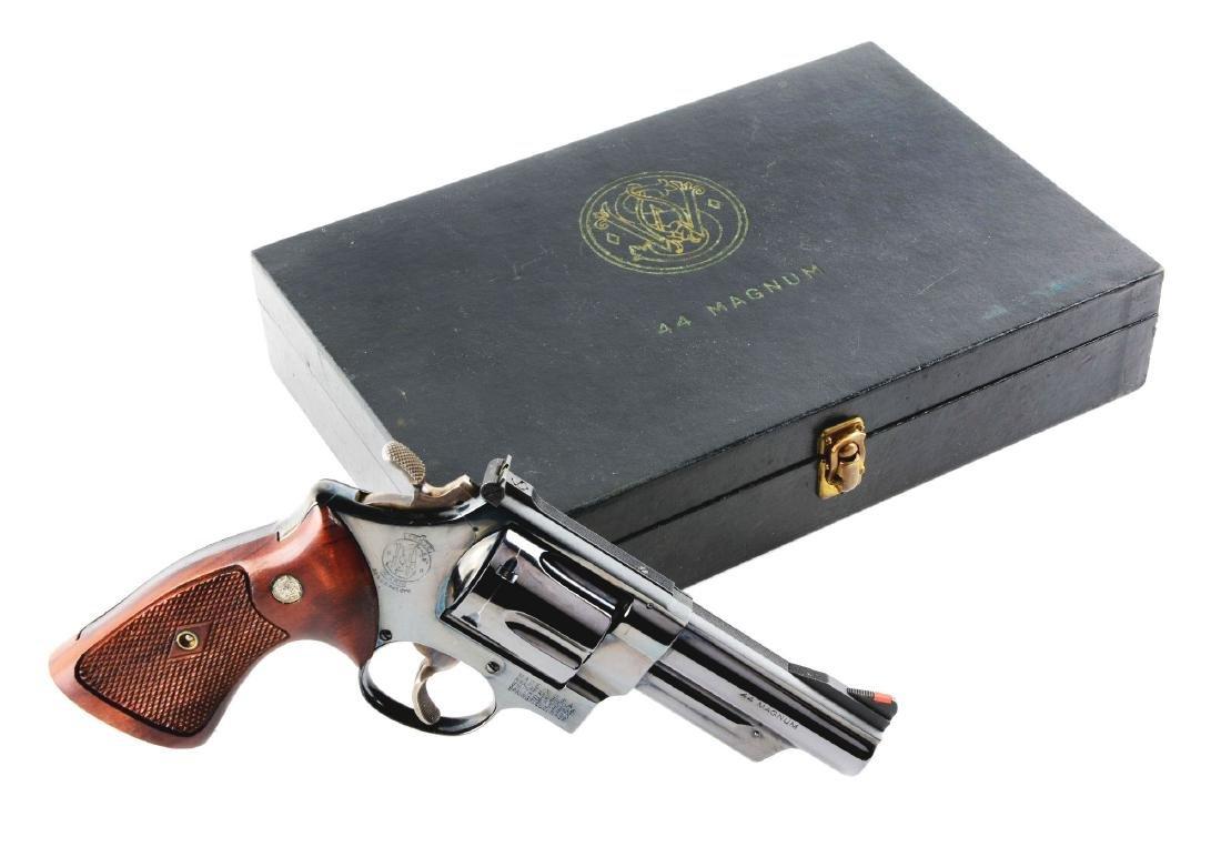(C) Black Box S&W Model Pre-29 .44 Magnum Double Action