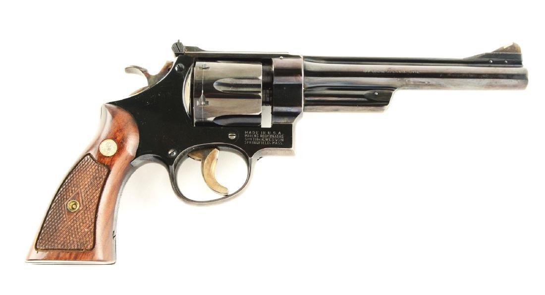 (C) S&W Pre-Model 24 Revolver.
