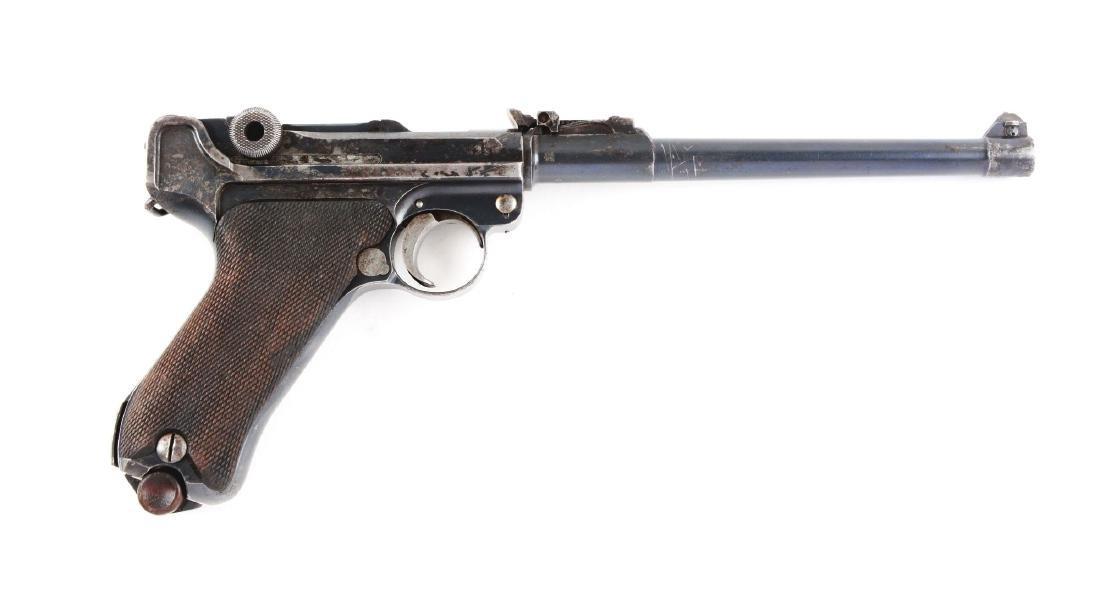 (C) DWM 1916 Artillery Luger.