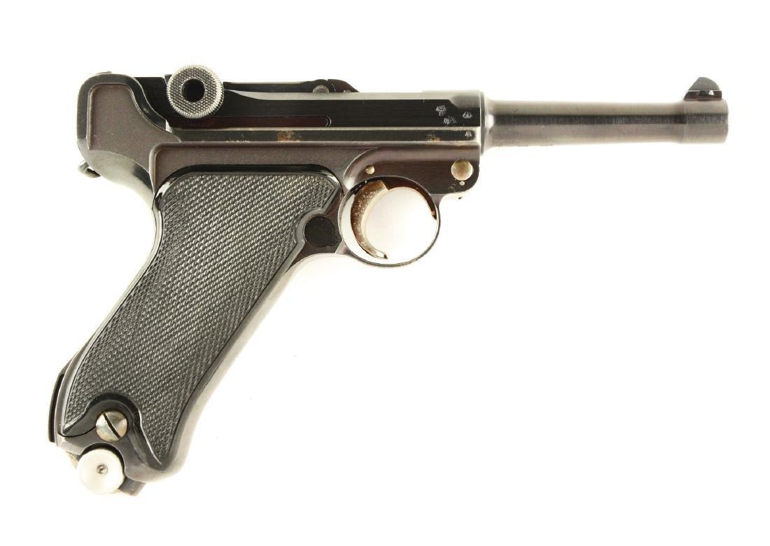 (C) 1943 Date Krieghoff Suhl Luger Semi-Automatic
