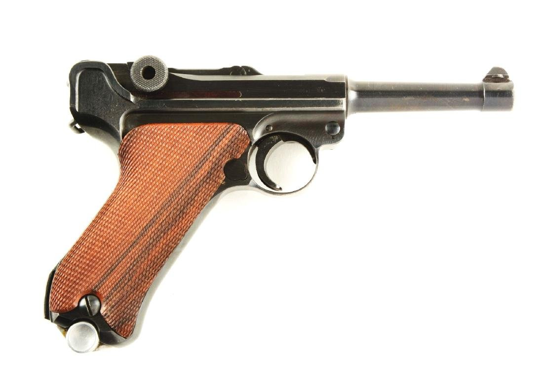 (C) Mauser Banner 1942 Dated Police Luger