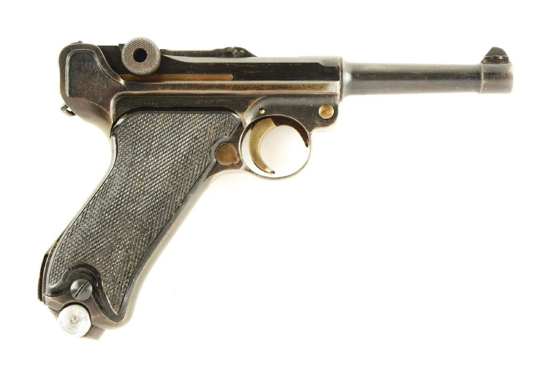 (C) Mauser 41 Banner Portuguese Navy Luger