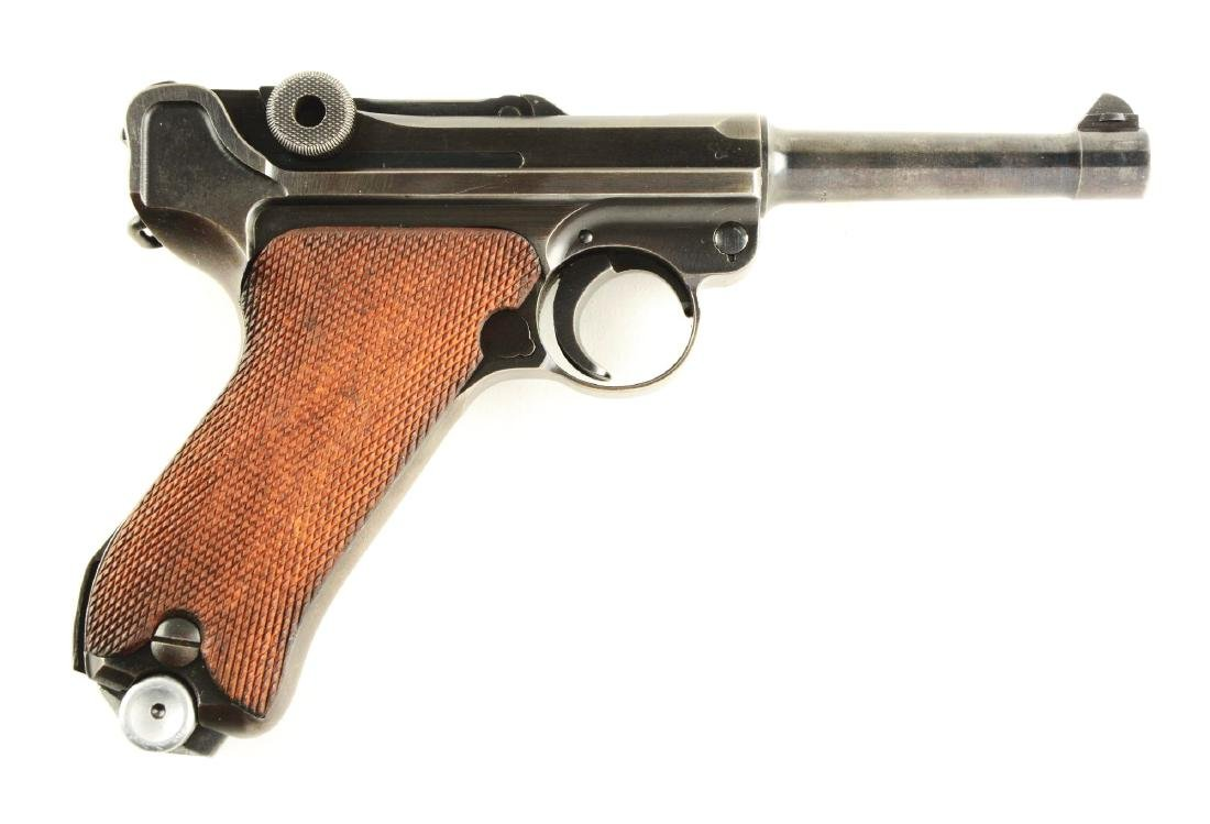 (C) Police Mauser Banner 1939 Dated Luger