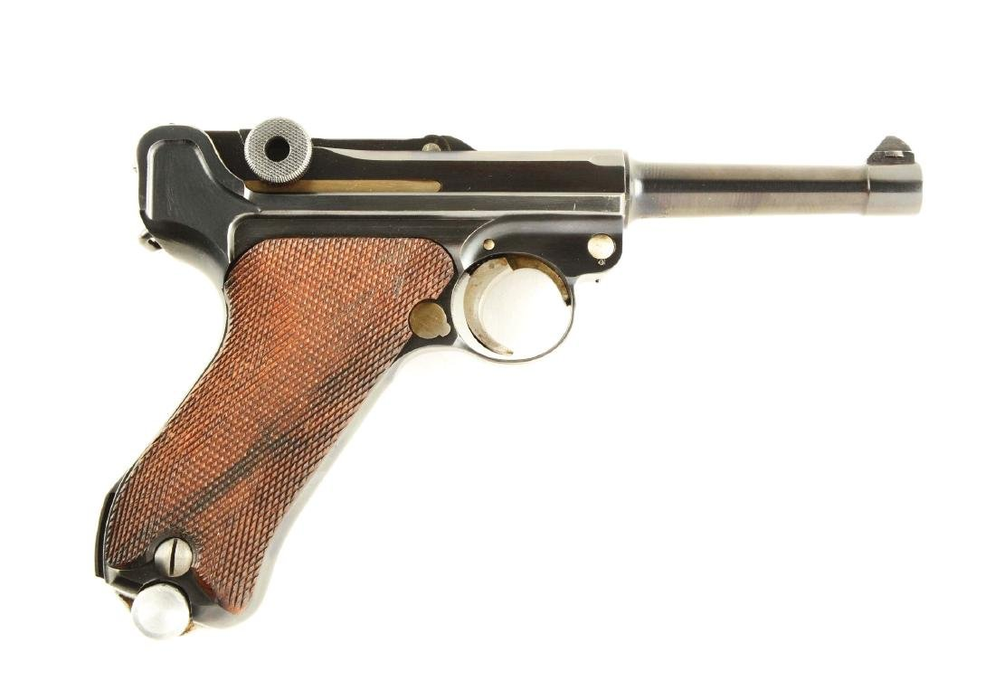 (C) Mauser Banner 1937 Dated Comercial Luger