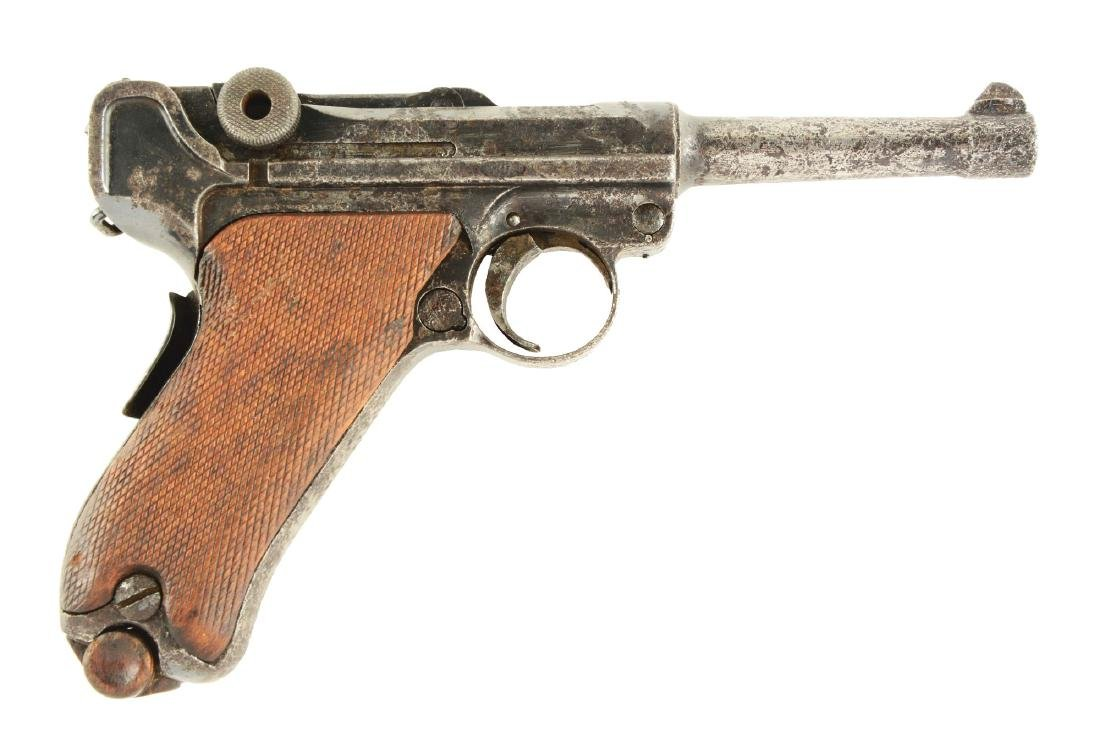 (C) 1905 DMW Dutch Prototype Luger Semi-Automatic
