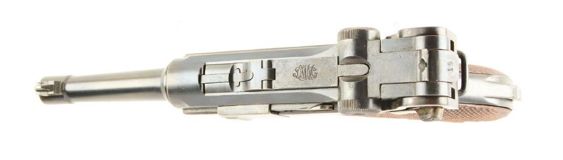 (C) DWM 1923 Commercial Luger Semi-Automatic Pistol. - 3