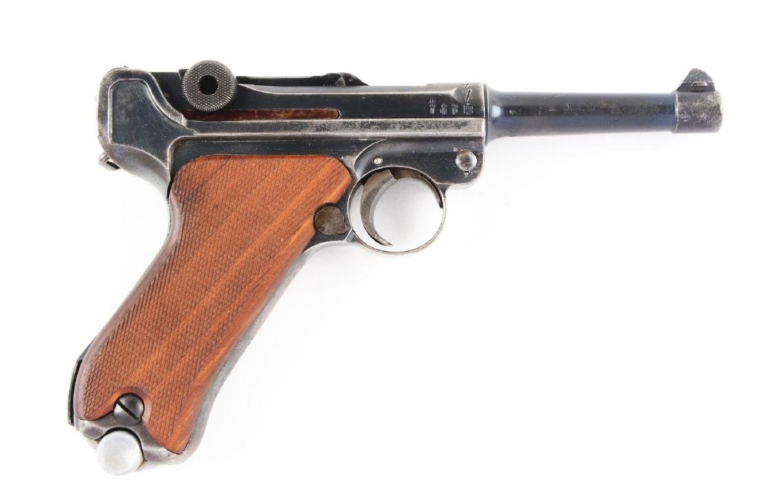 (C) Mauser Luger Semi-Automatic Pistol.