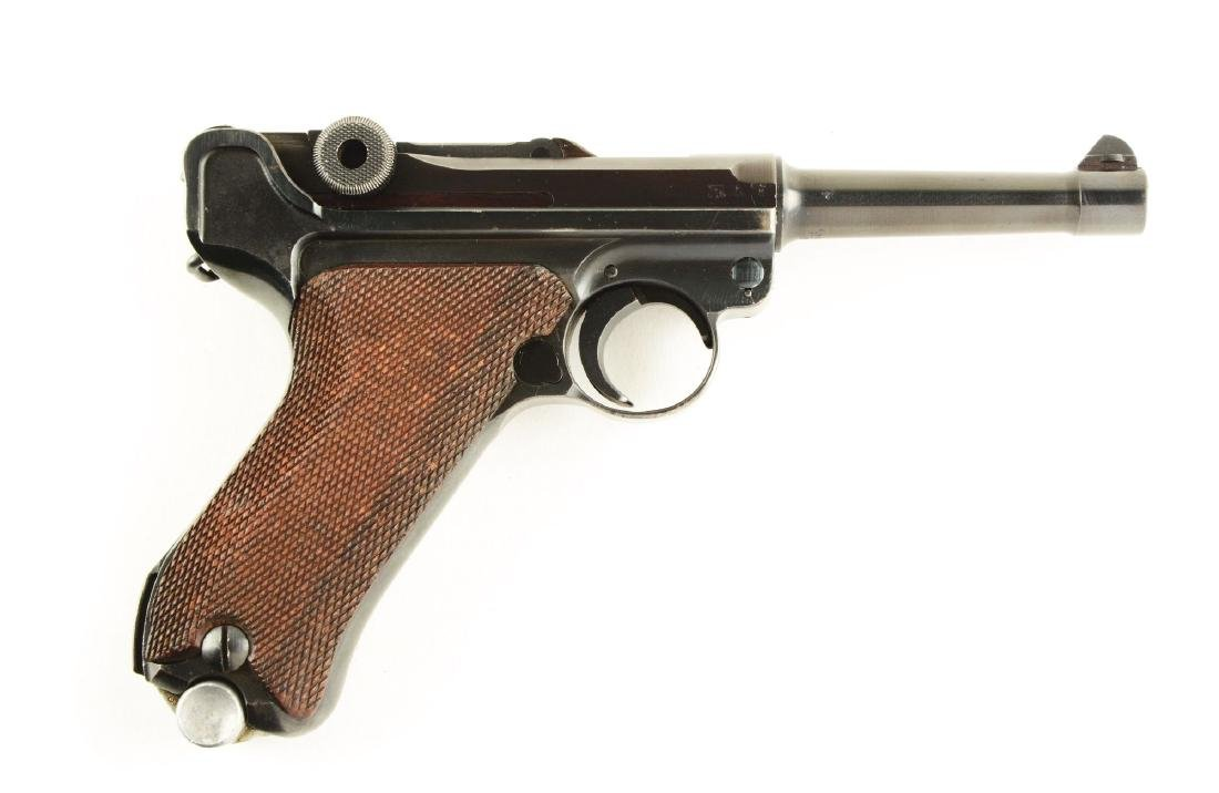 (C) Mauser Code 42 1940 Dated Luger Semi-Automatic