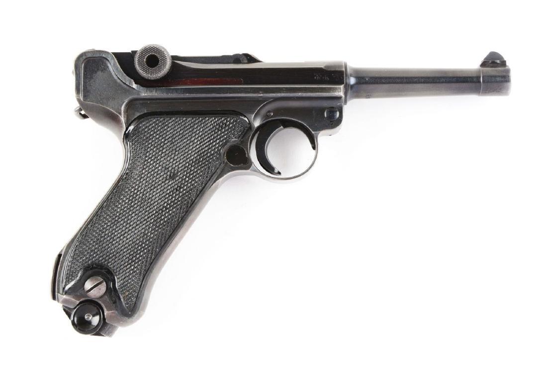 (C) BYF P.08 Black Widow Luger.