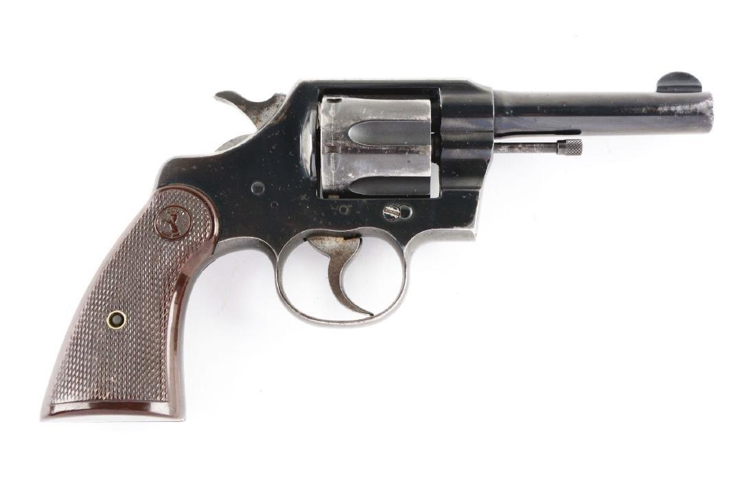 (C) Colt Commando Revolver.